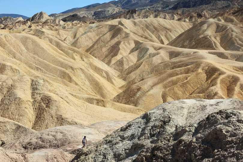 cosa vedere alla Death Valley, Zabriskie Point