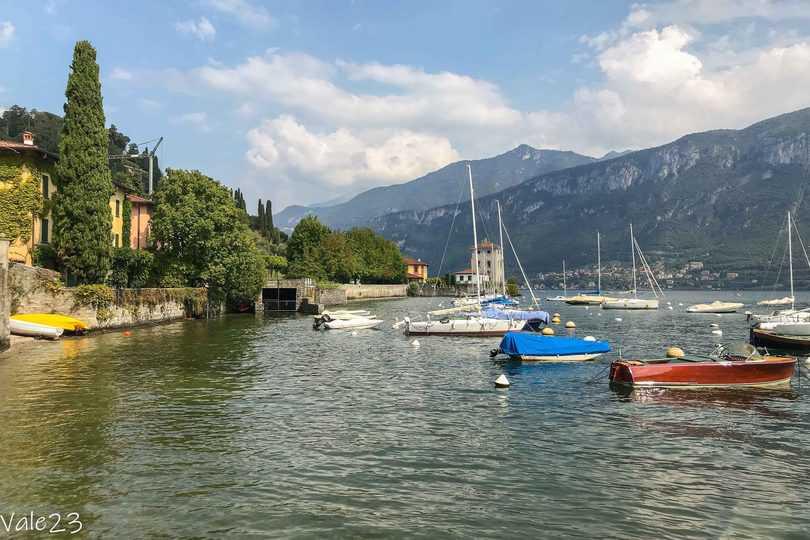 Bellagio e Varenna, porto di Pescallo