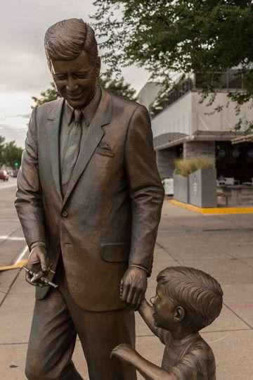 Black Hills South Dakota, statue dei presidenti a Rapid City