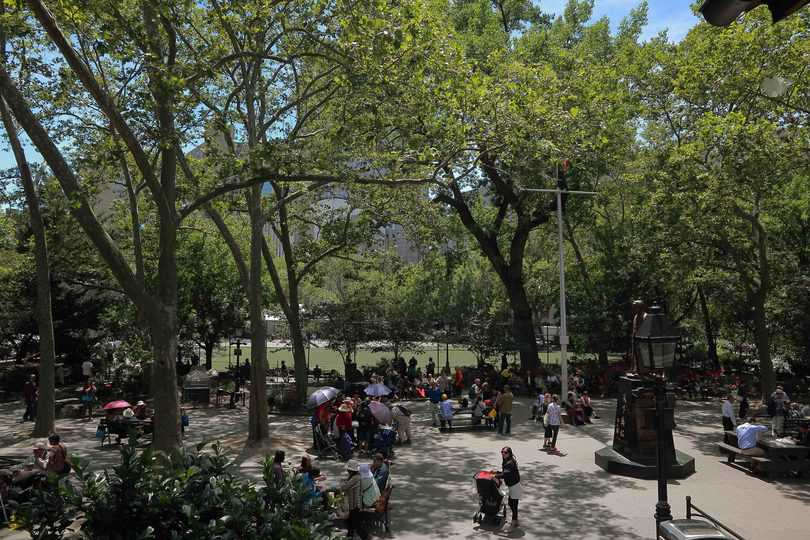 cosa vedere a Chinatown a New York, Columbus Park